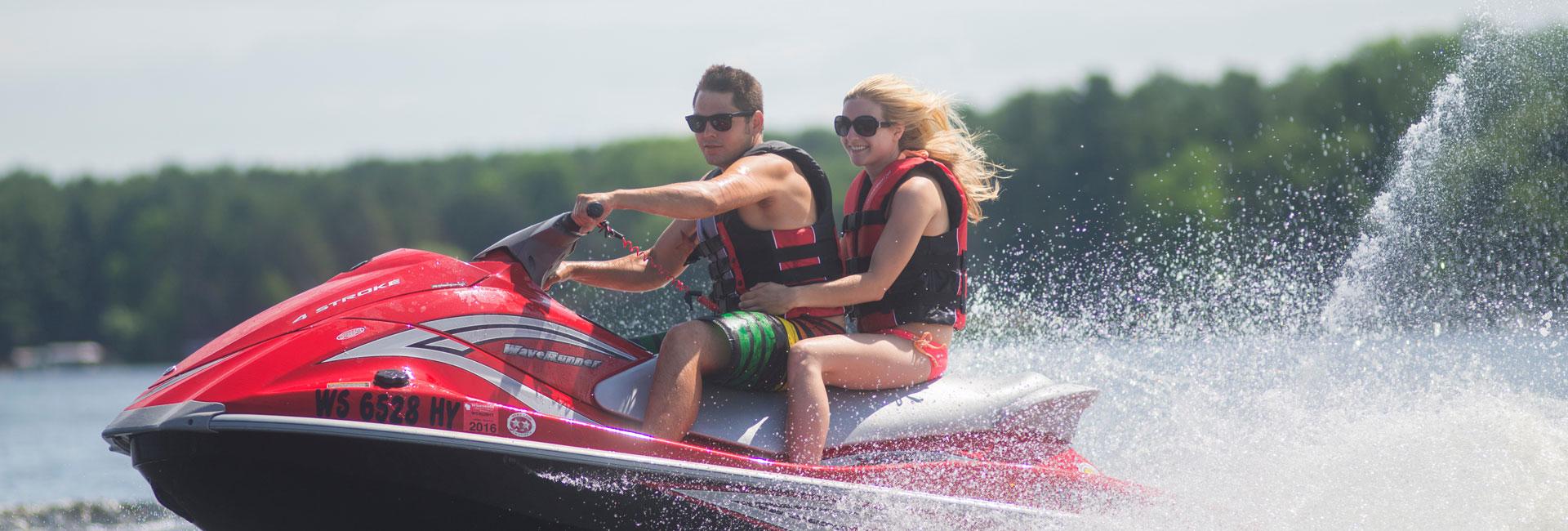 Waverunner Rentals on Lake Delton