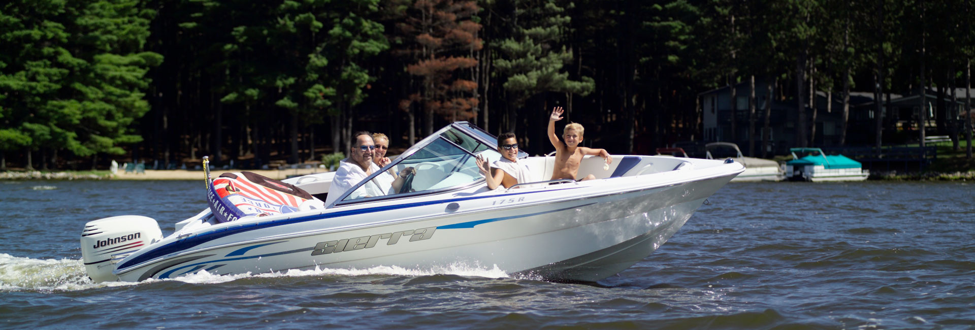 Ski Boat Rentals on Lake Delton