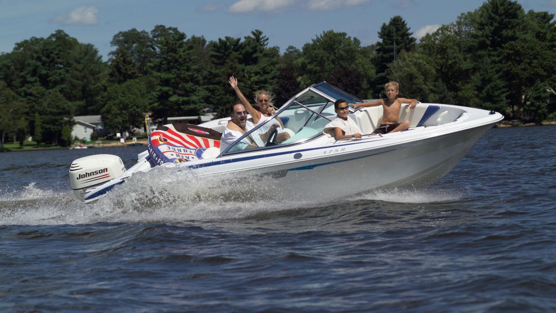 Paddle boat on lake  YouTube